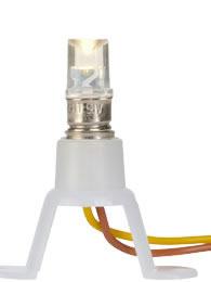 Brawa 3401 - LED-Bulb Holder, warmwhite