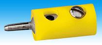 Brawa 3701 - Pin Connector, yellow [100 pi