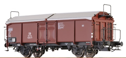 Brawa 37021 - O Sliding Roof Freight Car Km