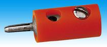Brawa 3706 - Pin Connector, orange [100 pi