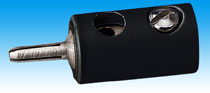 Brawa 3708 - Pin Connector, black [100 pie