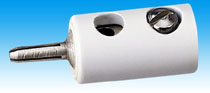 Brawa 3709 - Pin Connector, white [100 pie