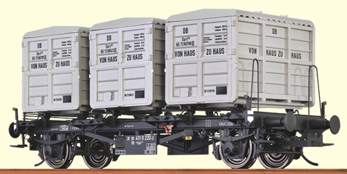 Brawa 37155 - 0 Scale Container Car Lbs 577 DB, I