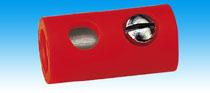 Brawa 3742 - Socket, red [10 pieces]