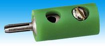 Brawa 3753 - Plug, green [10 pieces]