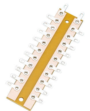 Brawa 3915 - Solder Tag Strip, 10