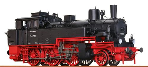 Brawa 40358 - German Steam Locomotive BR 74.0-3 of the DB