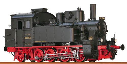 Brawa 40568 - German Steam Locomotive BR98.10 of the DRG (DCC Sound Decoder)