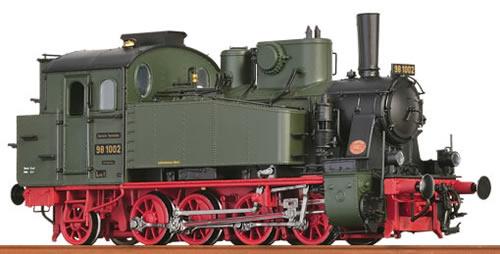 Brawa 40572 - German Steam Locomotive BR98.10 Bayern of the DRG (DCC Sound Decoder)