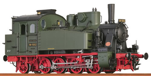Brawa 40572 - German Steam Locomotive BR98.10 Bayern of the DRG (DCC Sound Decoder)