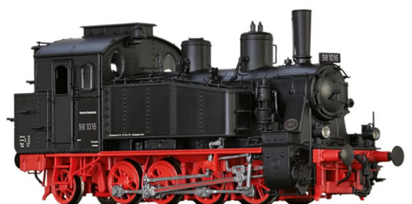 Brawa 40574 - German Steam Locomotive 98.10 of the DB (DC Analog Basic Plus)