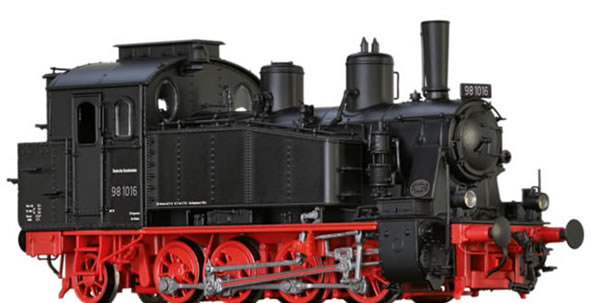 Brawa 40576 - German Steam Locomotive 98.10 of the DB (DC Digital Extra w/Sound)