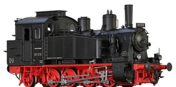 Brawa 40577 - German Steam Locomotive 98.10 of the DB (AC Digital Extra w/Sound)