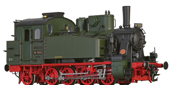 Brawa 40578 - German Steam Locomotive 98.10 of the DRG (DC Analog Basic Plus)