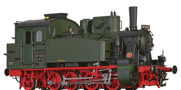 Brawa 40579 - German Steam Locomotive 98.10 of the DRG (AC Digital Basic Plus)