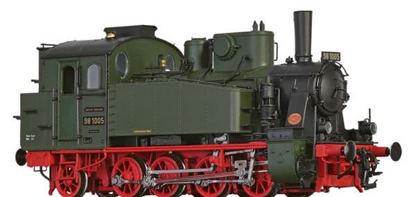 Brawa 40580 - German Steam Locomotive 98.10 of the DRG (DC Digital Extra w/Sound)