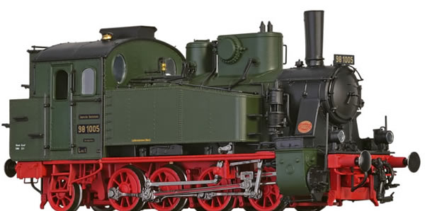 Brawa 40581 - German Steam Locomotive 98.10 of the DRG (AC Digital Extra w/Sound)