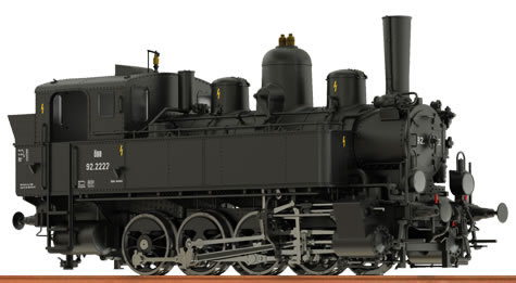 Brawa 40600 - Steam Locomotive Reihe 178 ÖBB