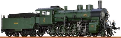 Brawa 40662 - Bavarian Steam Locomotive P 3/5 H of the K.Bay.Sts.B.