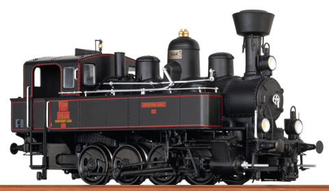 Brawa 40786 - Austrian Steam Locomotive Reihe 178 of the KkstB (DCC Sound Decoder)