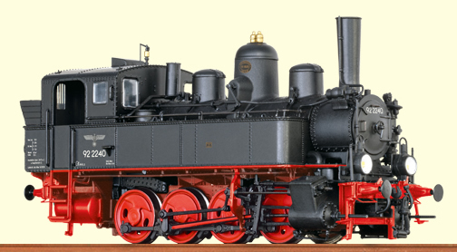 Brawa 40790 - German Steam Locomotive BR92.22 of the DRG (DCC Sound Decoder)