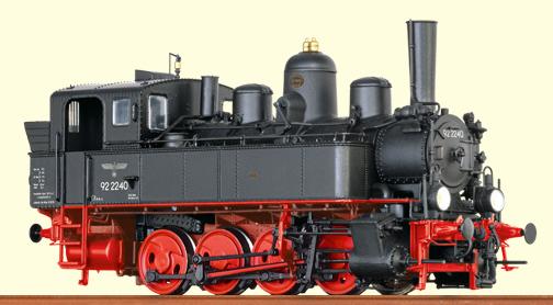 Brawa 40790 - German Steam Locomotive BR92.22 of the DRG (DCC Sound Decoder)