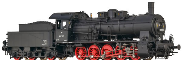Brawa 40821 - Austrian Steam Locomotive BR 657 of the OBB