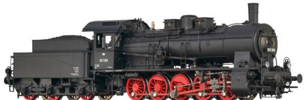 Brawa 40822 - Austrian Steam Locomotive BR 657 of the OBB (Sound+Steam)