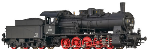 Brawa 40823 - Austrian Steam Locomotive BR 657 of the OBB (AC Sound+Steam)