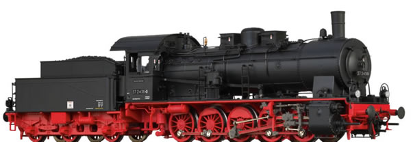 Brawa 40836 - German Steam Locomotive 57.10 of the DR (DC Analog Basic Plus)