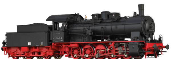 Brawa 40838 - German Steam Locomotive 57.10 of the DR (DC Digital Extra w/Sound)