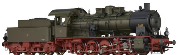 Brawa 40843 - German Steam Locomotive G10 of the KPEV EXTRA (AC Sound+Steam)
