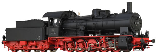 Brawa 40845 - German Steam Locomotive 57.10 of the DB BASIC+
