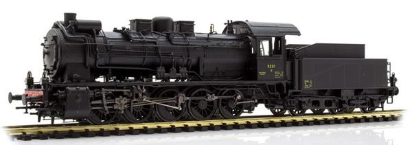 Brawa 40850 - Luxemburgian Steam Locomotive BR 57 of the CFL (DCC Sound Decoder)