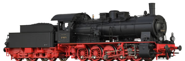 Brawa 40859 - German Steam Locomotive 57.10 of the DRG EXTRA (AC Sound+Steam)