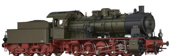 Brawa 40861 - German Steam Locomotive G10 P. of the St.E.V. (AC Digital Basic Plus)