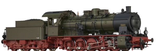 Brawa 40862 - German Steam Locomotive G10 of the P.St.E.V. (DC Digital Extra w/Sound)
