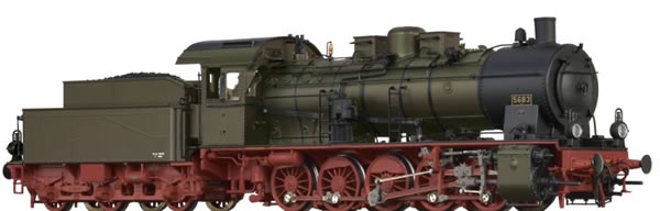 Brawa 40863 - German Steam Locomotive G10 of the P.St.E.V. (AC Digital Extra w/Sound)