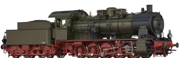 Brawa 40863 - German Steam Locomotive G10 of the P.St.E.V. (AC Digital Extra w/Sound)