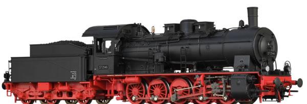 Brawa 40864 - German Steam Locomotive 57.10 of the DB (DC Analog Basic Plus)