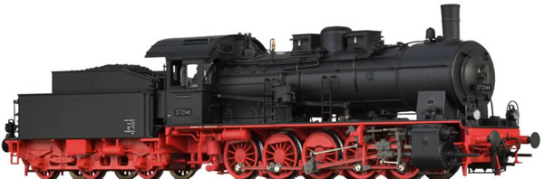Brawa 40865 - German Steam Locomotive 57.10 of the DB (AC Digital Basic Plus)