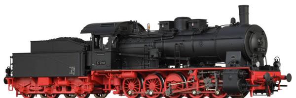 Brawa 40867 - German Steam Locomotive 57.10 of the DB (AC Digital Extra w/Sound)