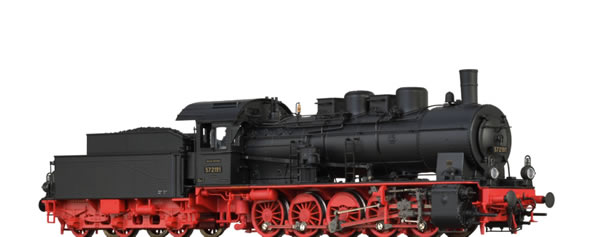 Brawa 40870 - German Steam Locomotive 57.10 of the DRG (DC Digital Extra w/Sound)
