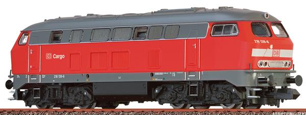 Brawa 41171 - German Diesel Locomotive 216 of the DB (Sound Decoder)