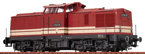 Brawa 41285 - German Diesel Locomotive V100 of the DR (DCC Sound Decoder)