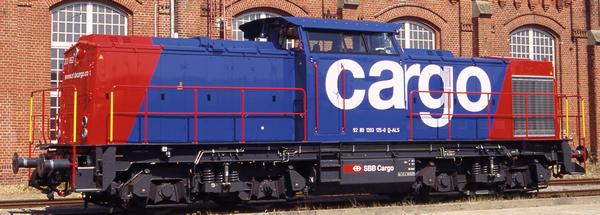 Brawa 41292 - Swiss Diesel Locomotive 203 of the SBB