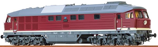 Brawa 41434 - German Diesel Locomotive 132 of the DR (DC Analog Basic Plus)