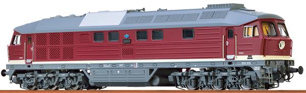 Brawa 41436 - German Diesel Locomotive 132 of the DR (DC Digital Extra w/Sound)