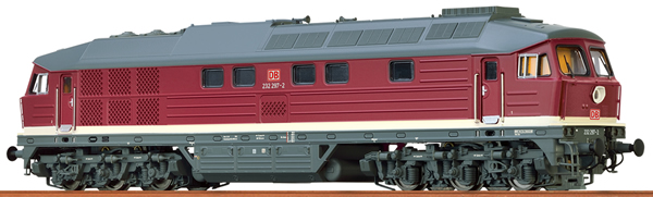 Brawa 41446 - German Diesel Locomotive 232 of the DB AG (DC Analog Basic Plus)