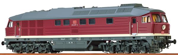 Brawa 41448 - German Diesel Locomotive 232 of the DB AG (DC Digital Extra w/Sound)
